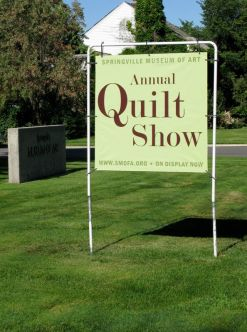 Sign Quilt Show