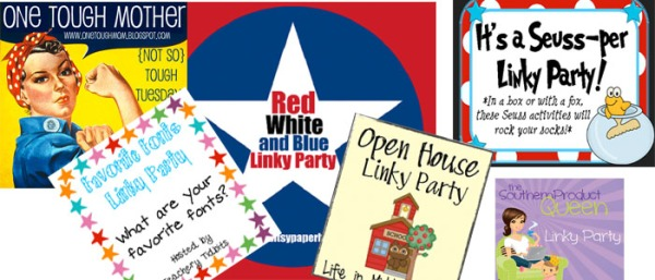 Linky Party for Quilting, or Link-Ups