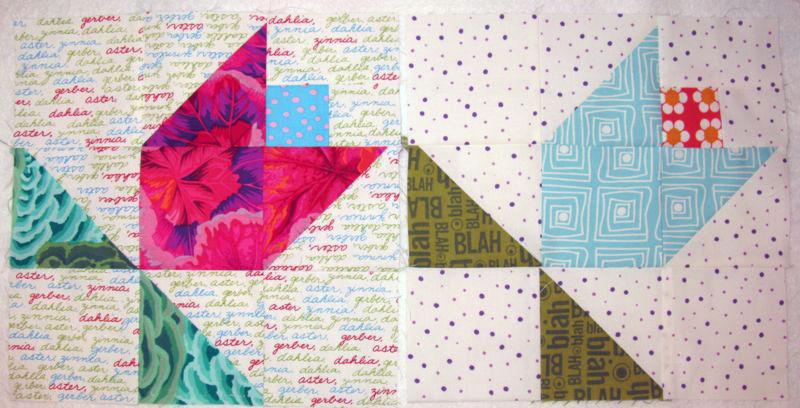June Flowerstulip Tutorial Occasionalpiece Quilt