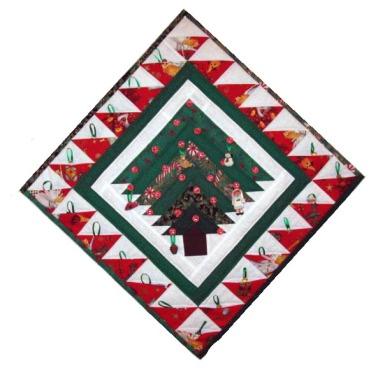 Log Cabin Advent Calendar Christmas