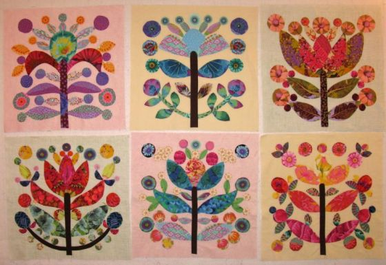 Gang of Six Lollypop Trees