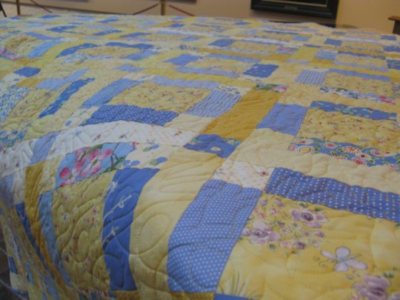 Sunshine And Shadow Occasionalpiece Quilt