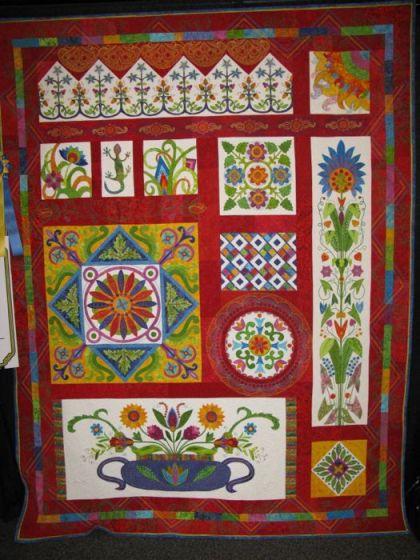 Red/White Quilts | OccasionalPiece--Quilt! : quilt show california - Adamdwight.com