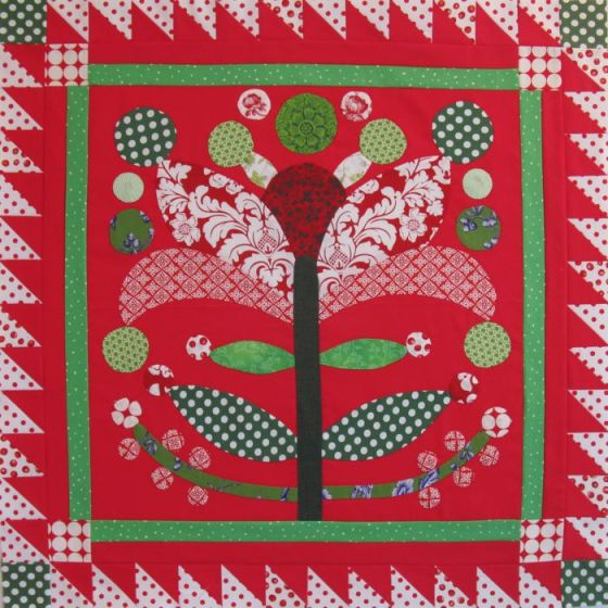 Christmas Lollypop Tree Wallhanging