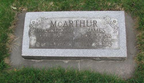 GG3 McArthur Grave