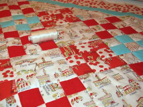 Italy quilt front