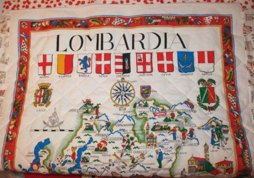 Italy Quilt Lombary Back