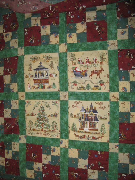 Old Christmas Quilt