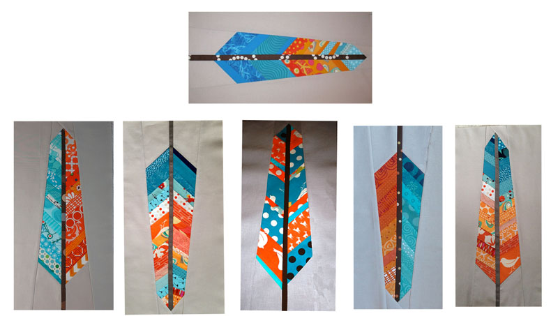 Feather Occasionalpiece Quilt