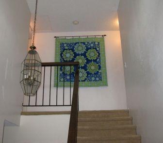 hanging Kaleidoscope Quilt