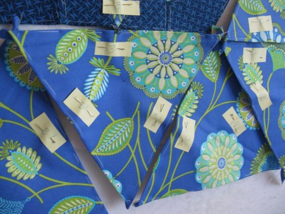 Kaleidoscope background ready to sew