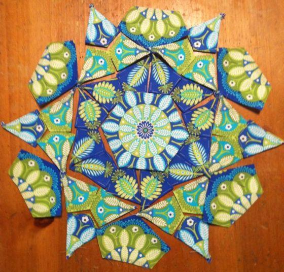 how to make a kaleidoscope quilt block