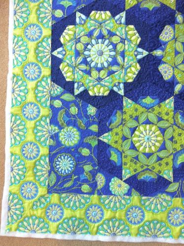 Kaleidoscope evaluate quilting