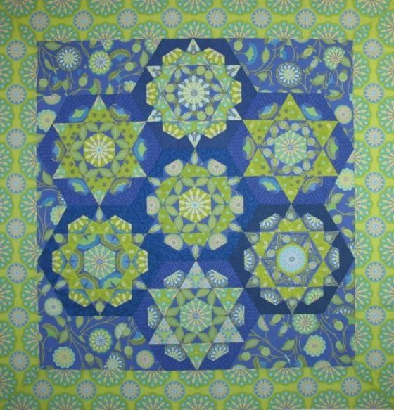 Kaleidoscope Occasionalpiece Quilt
