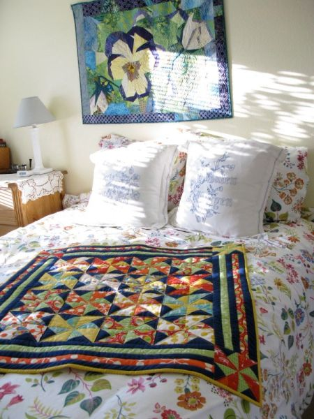 Village Faire in guest bedroom