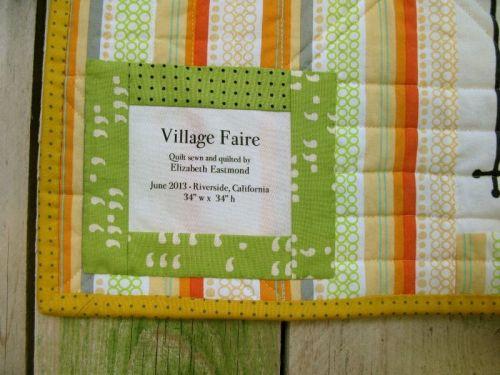 Village Faire Label
