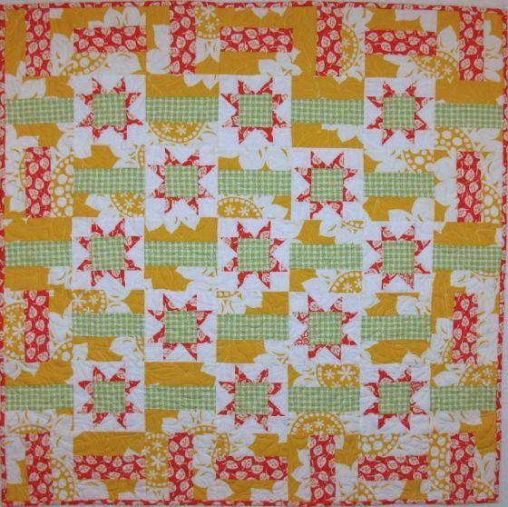 Citrus Front_ quilt