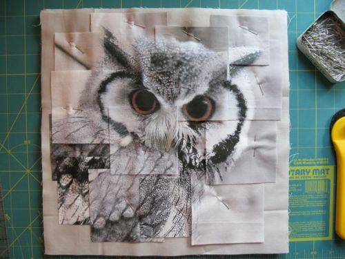 Congruence Owl quilt 1 layout