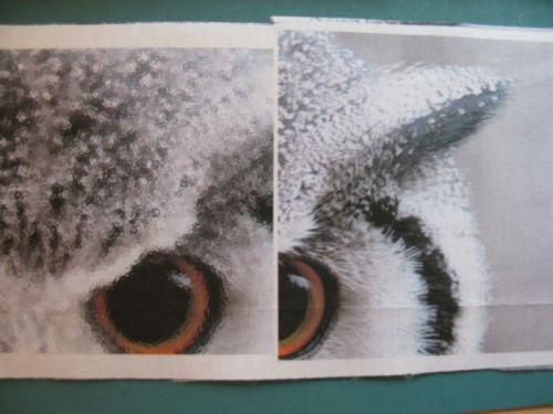 Congruence Owl quilt construction 4