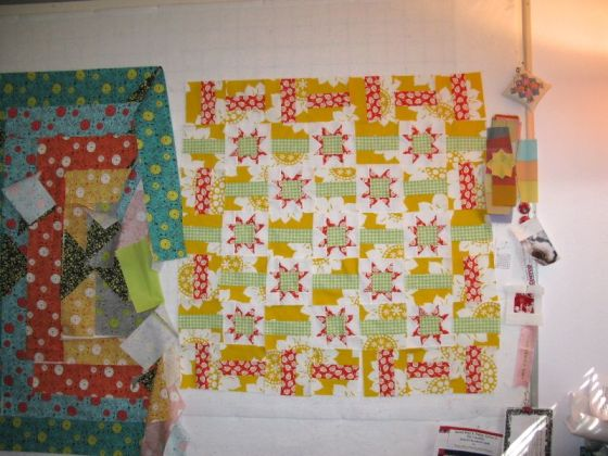 Crowded Pin Wall Quilt