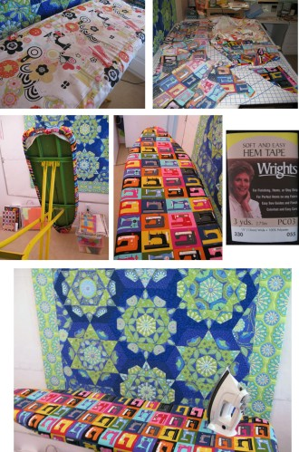 Ironing Board Cover DIY