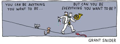 Be Everything? Snider