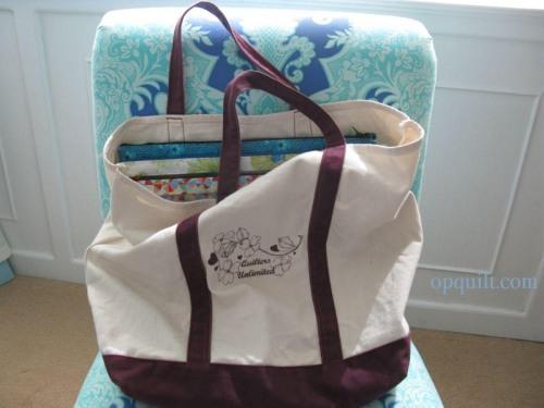 Project Portfolios in bag