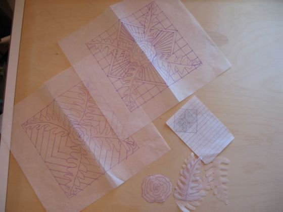 Juxtaposition Quilt Center drawings