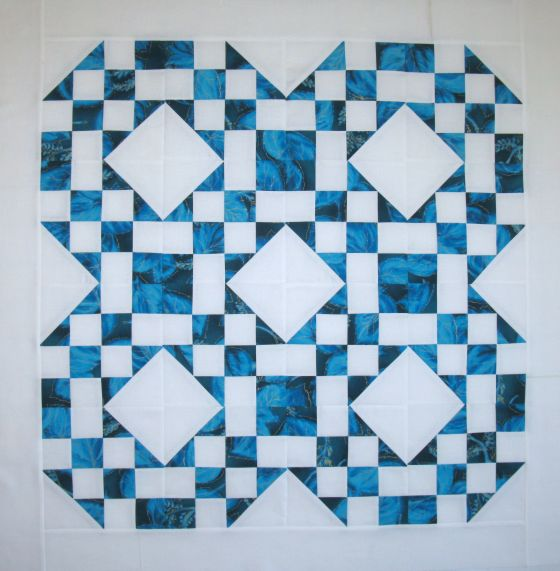 Sea and Sand Quilt Top Schnibbles