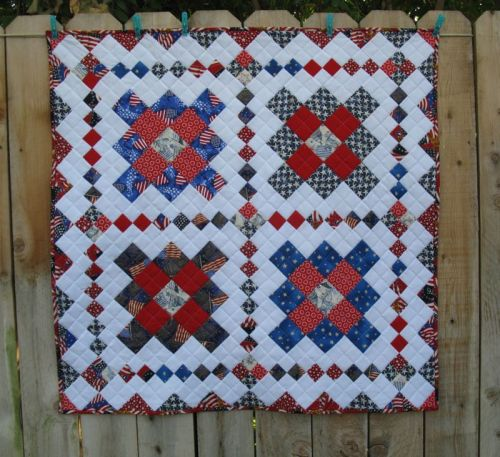 America is a Tune_quilt front
