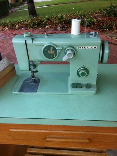 Green Sewing Machine