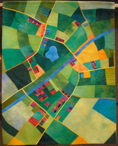 LG Aerial Map Quilt