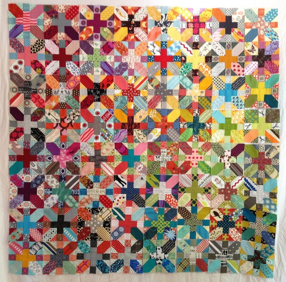 MissRiain's Cross-X quilt