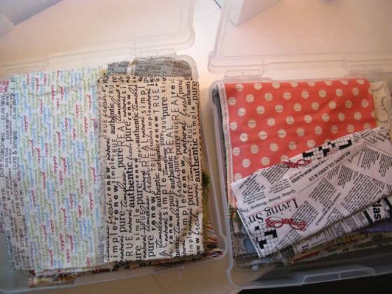 Text fabrics