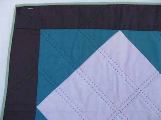 Amish Doll Quilt_detail