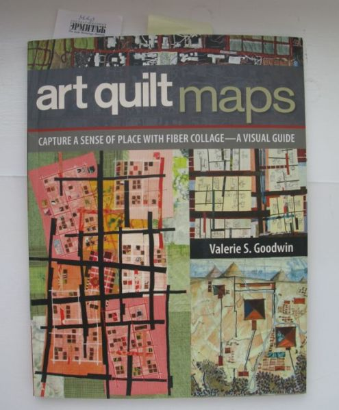 Art Quilt Maps book