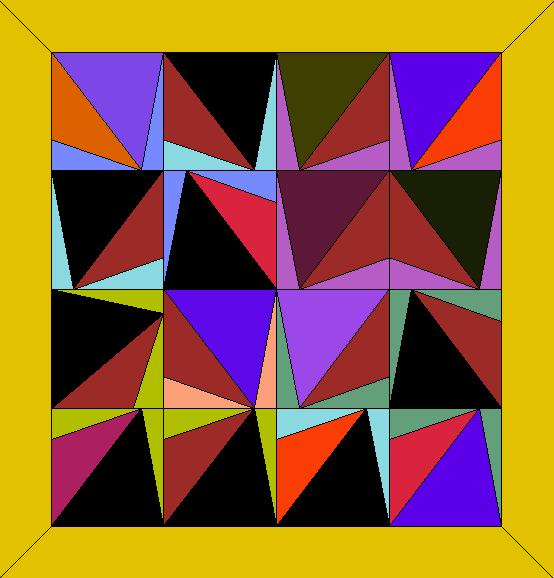 Cedars-Sinai Art Quilt Block