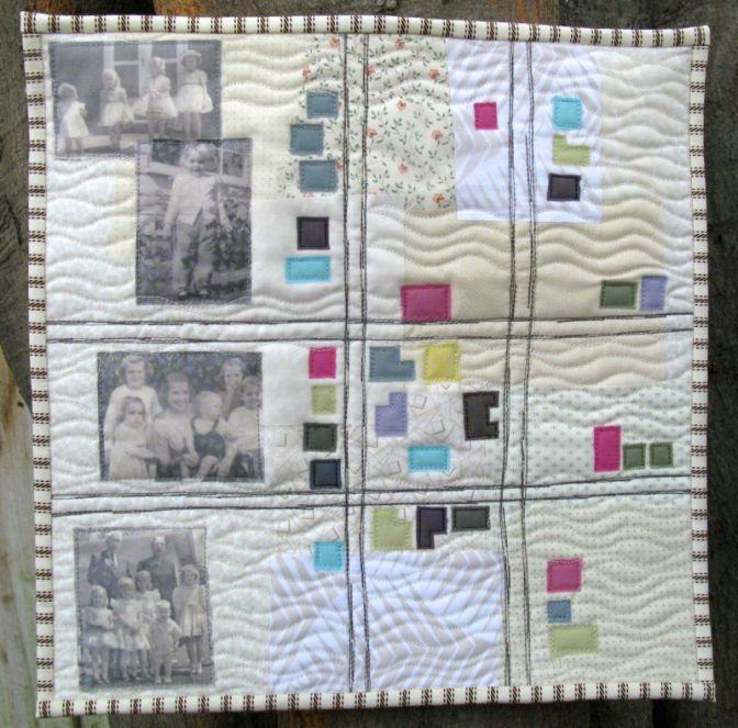 Childhoods Wide Avenues Art Quilt_front