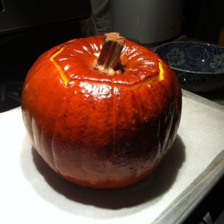 Cooked Stuffed Pumpkin