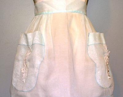 organdy apron