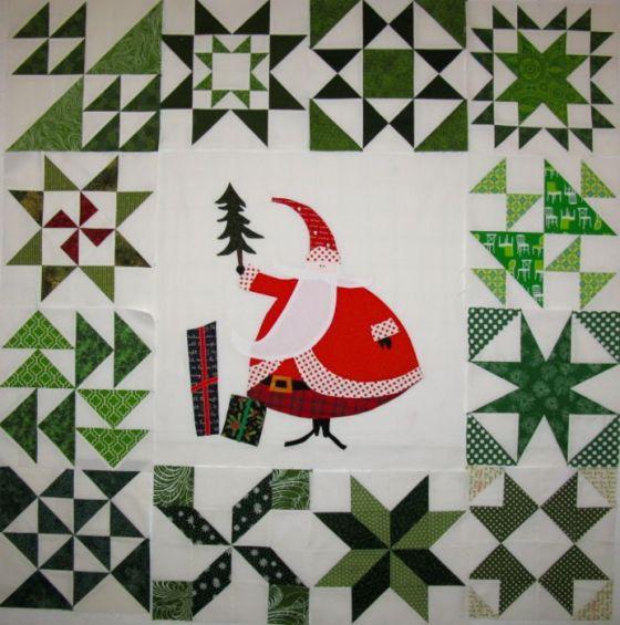 Santa and His Squares