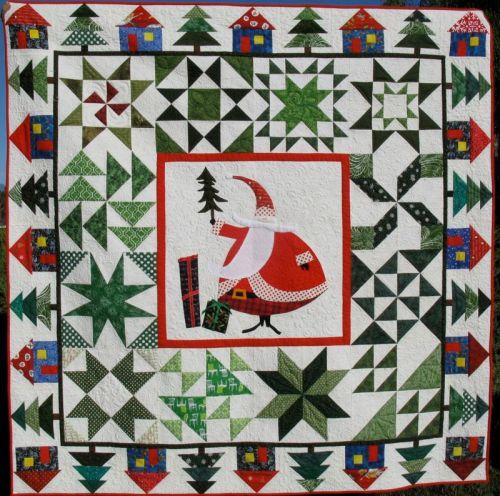 Santa Claus Quilt_1