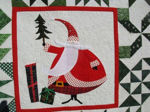 Santa Claus Quilt_2