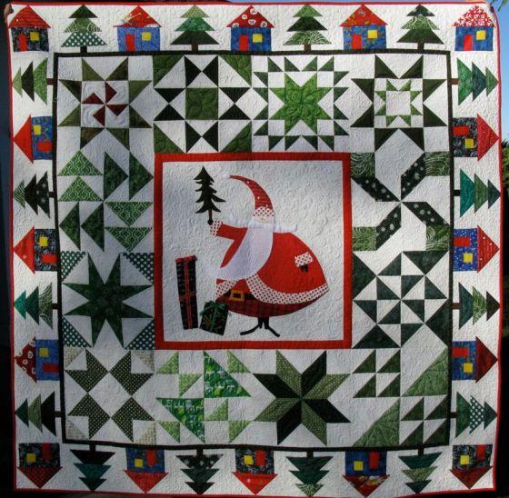 Santa Claus Quilting_1