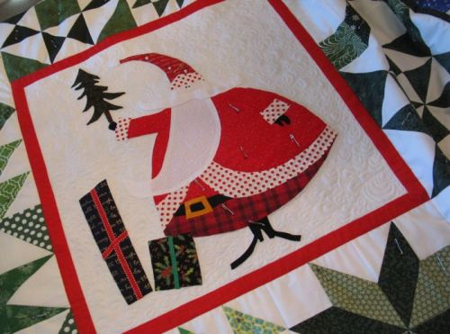 SantasVillage Center Quilt