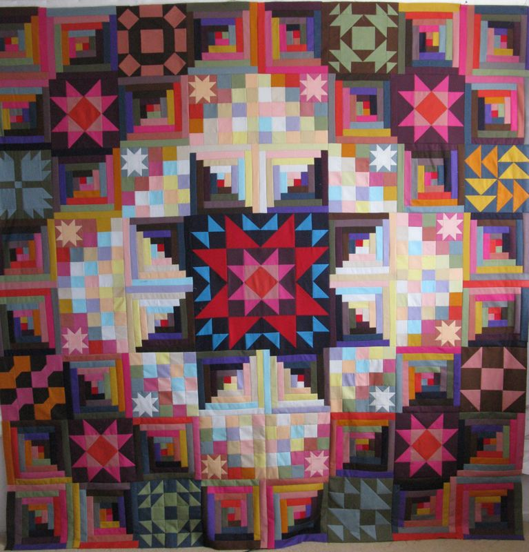 Amish with a Twist-II OccasionalPiece--Quilt!