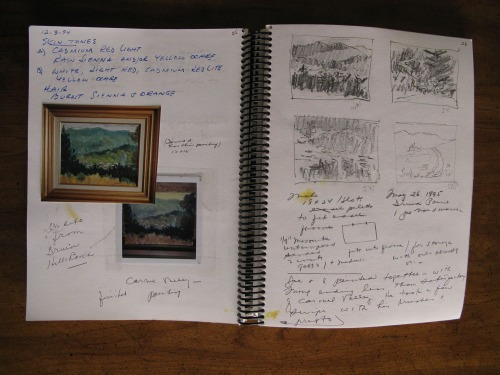 Dad's Art Book Pages