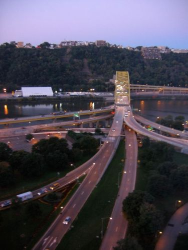 Freeway bridges PIttsburgh