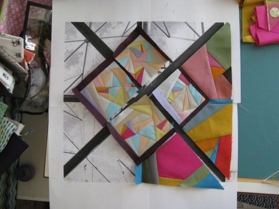 On Line quilt in construction2a