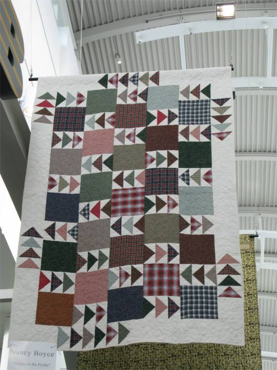 Plaid Geese Quilt
